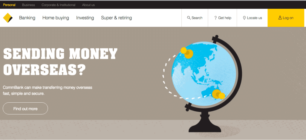 CommBank Web Design