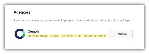 facebook roles approved