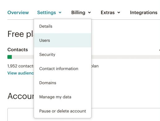 MailChimp Users